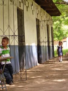 Classrooms in La Ceiba, Nicaragua built by Quinnipiac University student volunteers