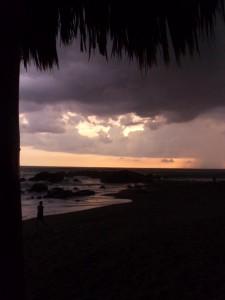 Beach Sunset Nicaragua